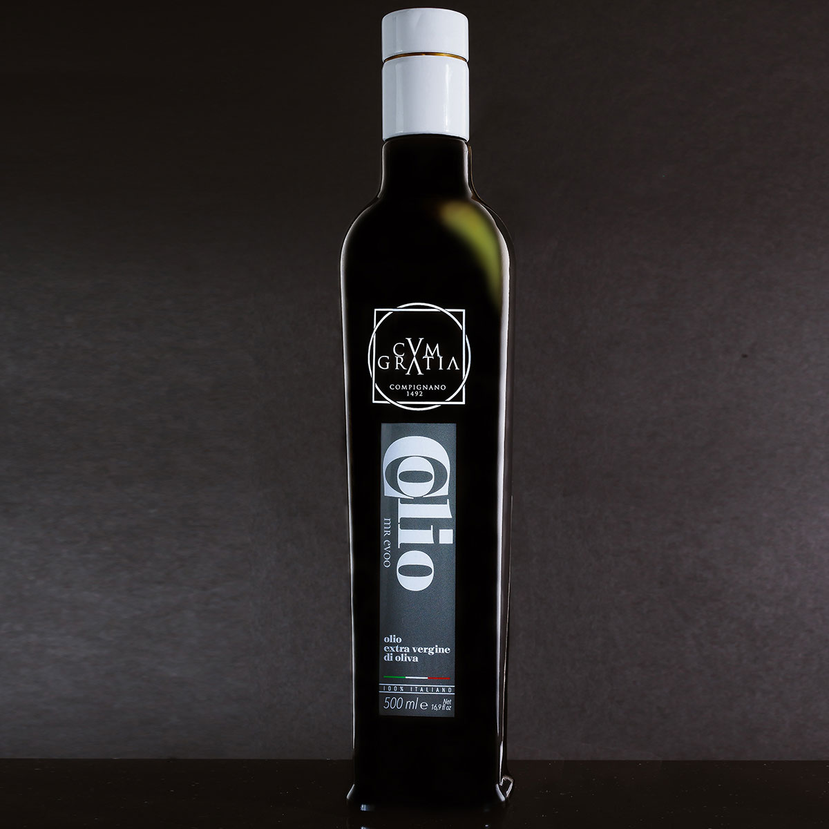 Olio extra vergine di oliva umbro COLIO® Mr EVOO ml 500 [BOX 6 bottiglie]